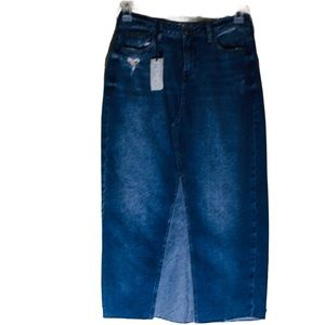 River Island Jeans Skirt size 10 NEW